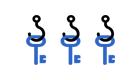 Крючки для ключниц